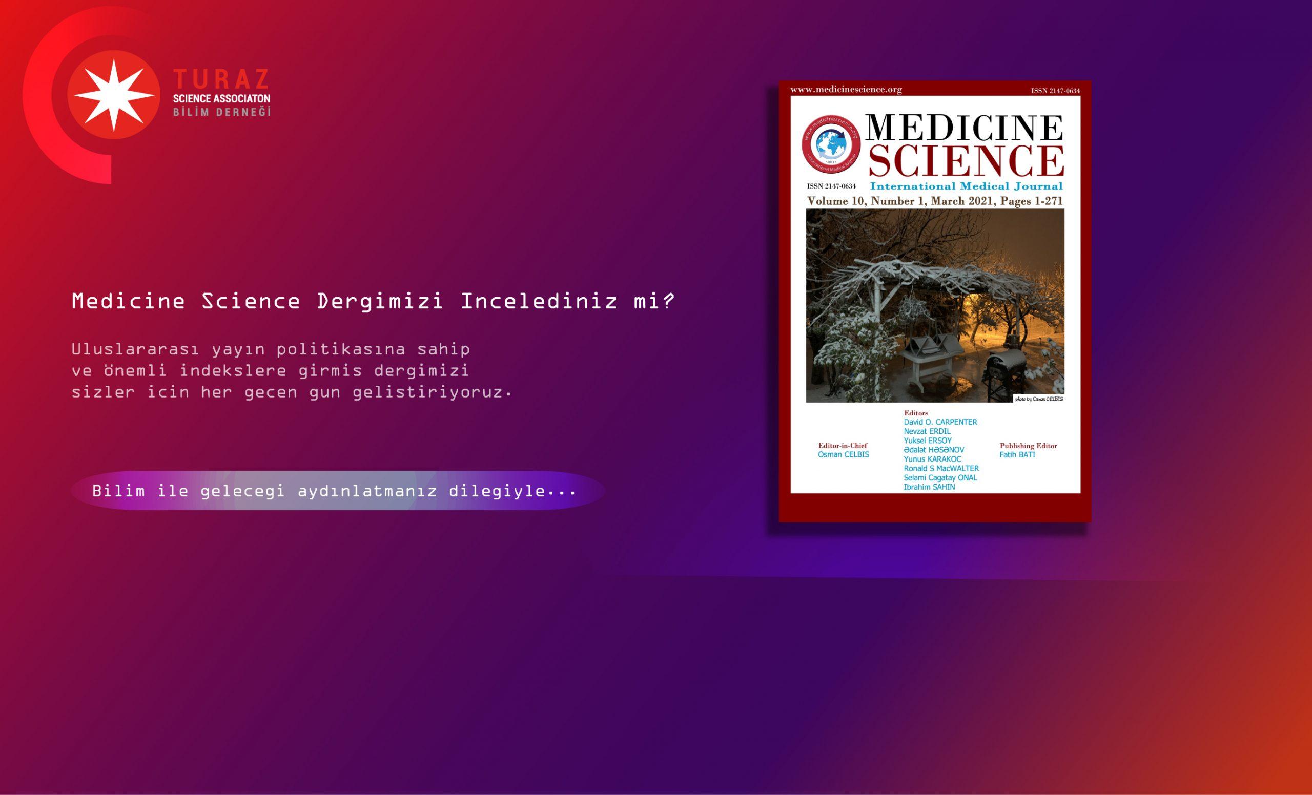 Medicine Science dergimizi incelediniz mi?